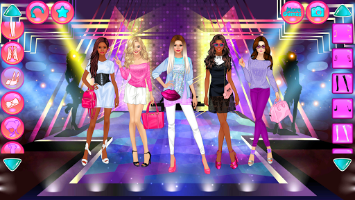 Girl Squad Fashion - BFF Fashionista Dress Up apkpoly screenshots 4