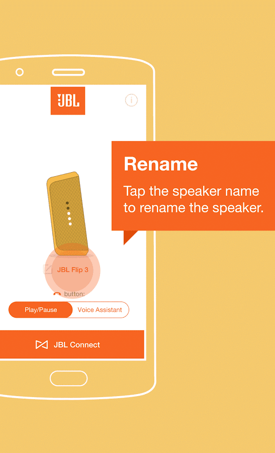 JBL Connect- screenshot