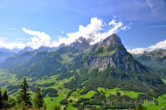 Photo: view of Glarus from Aeugsten