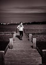 Photo: Lauren on the dock of the bay