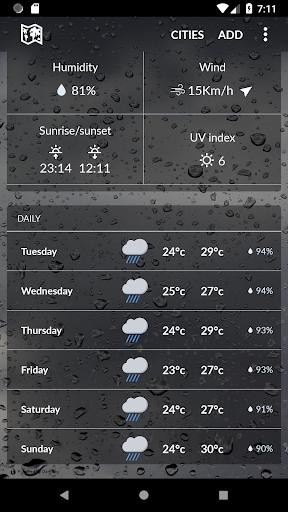 Burma Weather 1.1.3 screenshots 2