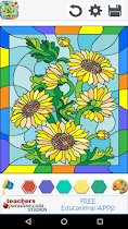 Stained Glass Coloring Book - screenshot thumbnail 05