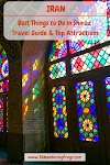 Things to Do in Shiraz Travel Guide // Pink Mosque Glasswork