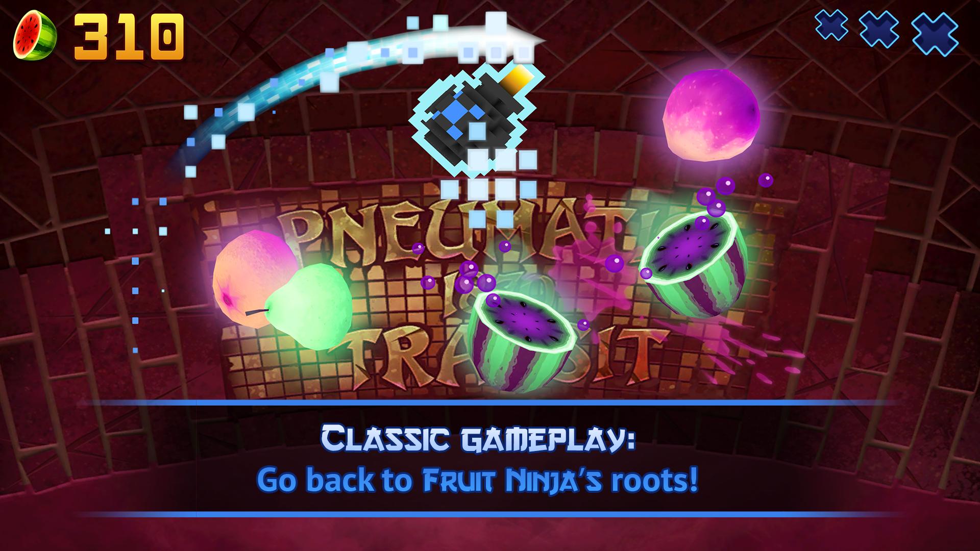Fruit Ninja screenshot #2