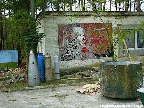 Photo: Malowidło na budynku kina