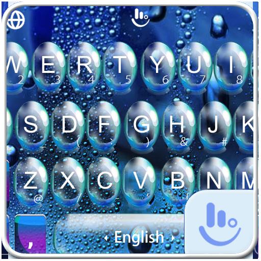 Rainy Day Water Screen FREE Keyboard Theme