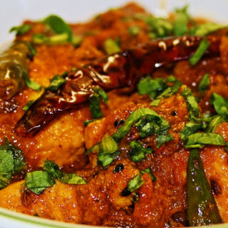 Hyderabadi Lal Chicken