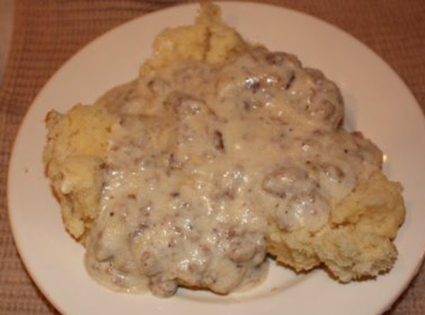 The Best Biscuits And Gravy! Recipe