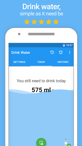 Water Drink Reminder and Alarm 2.6 screenshots 1