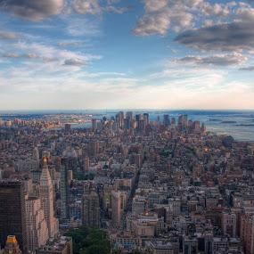 Manhattan by Morten Gustavsen - City,  Street & Park  Vistas