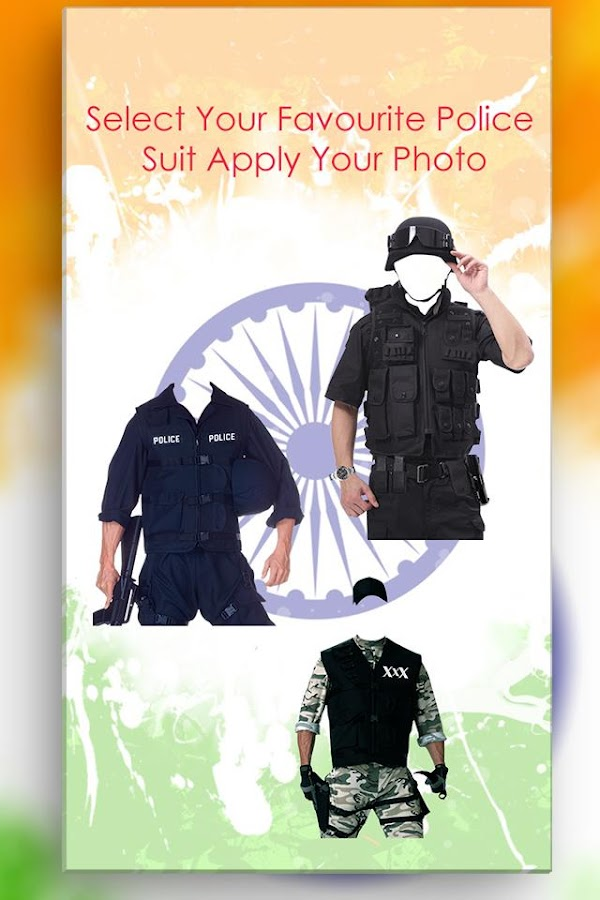 Police Photo Suit- screenshot