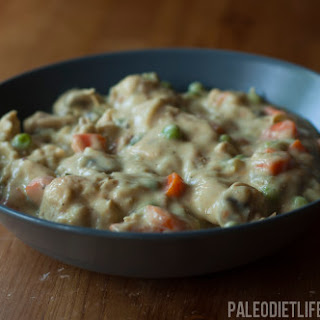 Quick And Creamy Chicken Stew.