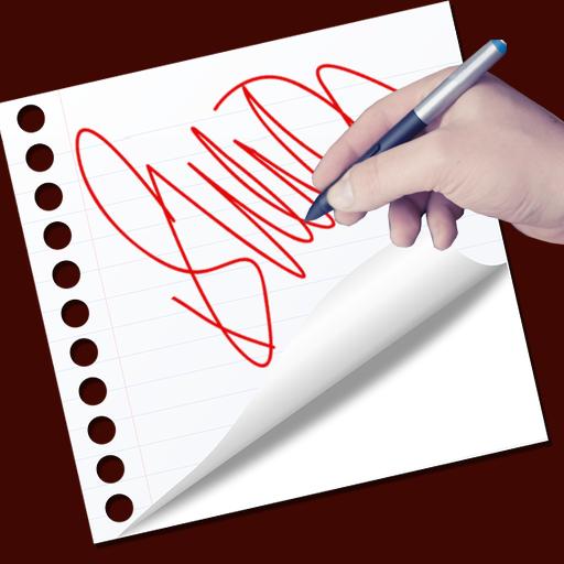Real Signature Maker 2018 Icon