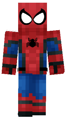 Spiderman Nova Skin - Skins para minecraft pe de spiderman