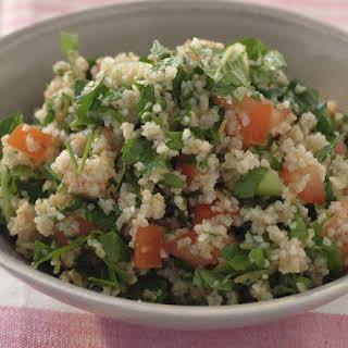 Tabouli Bulgur Salad.