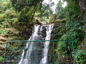 Photo: Kadambi waterfall in Kudremukh