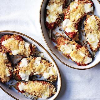 Eggplant Parmesan with Fresh Mozzarella