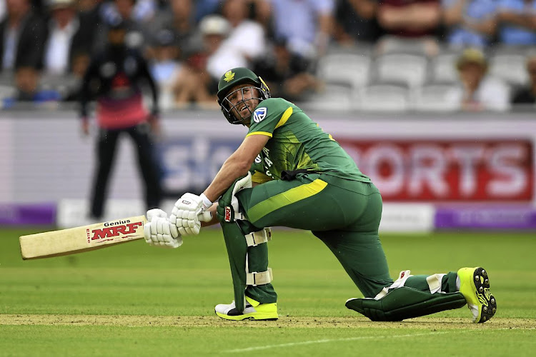 Former South Africa captain AB de Villiers. File photo
