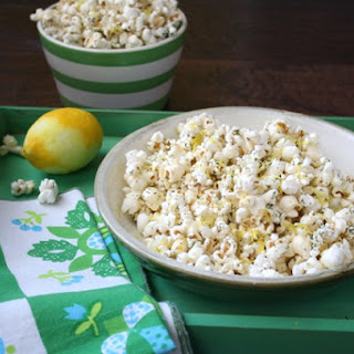 Lemon Dill Green Popcorn
