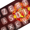 Man United keyboard themes icon