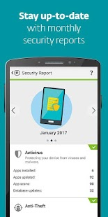 Mobile Security & Antivirus Capture d'écran