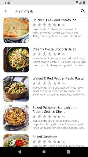 Dinner Recipes 5.03 screenshots 2