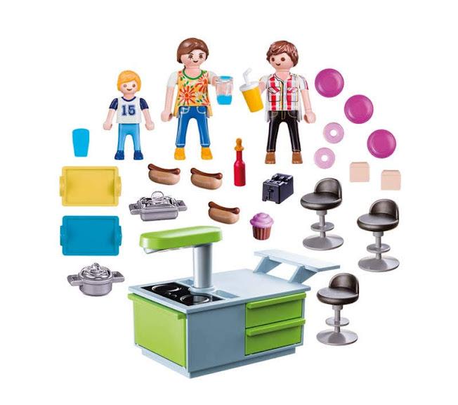 Contenido Real de Playmobil® 9543 Maletín Cocina