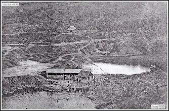 """Photo: 1930 - Lacul Carolina si Durgau Sursa info.  E Gergely """"Potaissa - Turda"""" pag.262"""