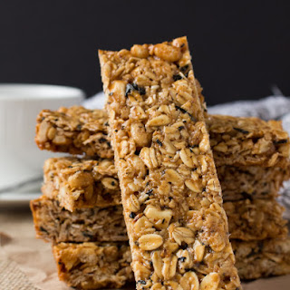 London Fog Granola Bars.