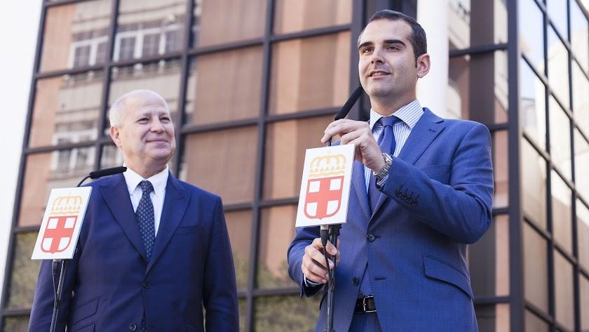 Comparecencia tras la reunión entre Imbroda y Fernández-Pacheco
