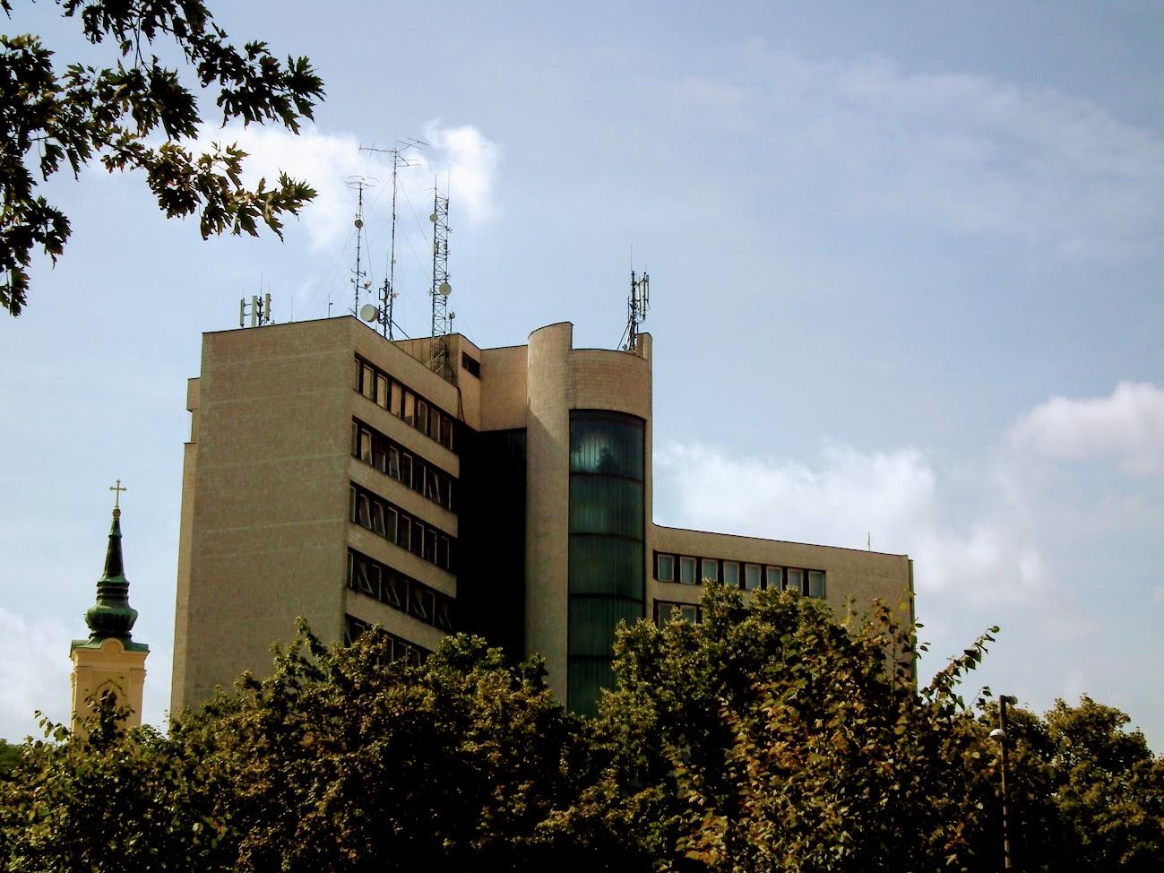 Miskolc/ITC székház - helyi URH-FM adóállomás