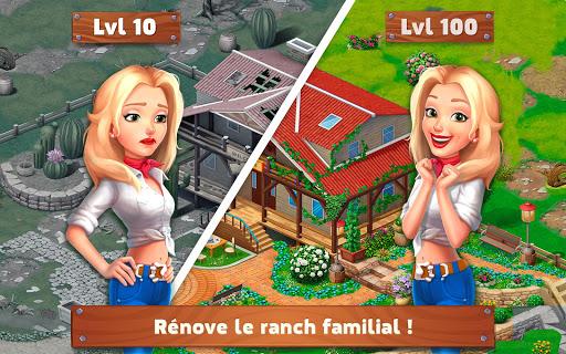Tu00e9lu00e9charger Gratuit Rancho Blast: Family Story APK MOD (Astuce) screenshots 1