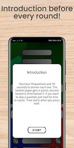 Multiplayer – 3 & 4 player quiz 5