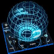 App 3D Next Tech Keyboard APK for Kindle