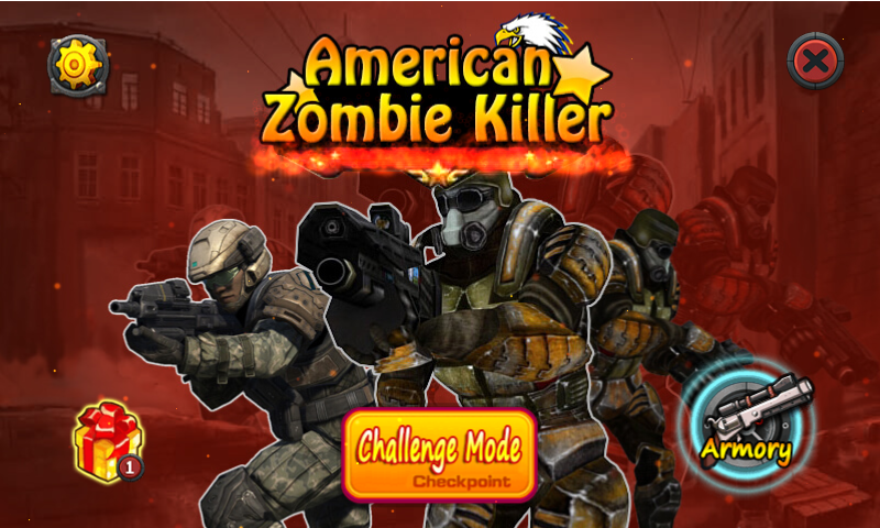American Zombie Killer- screenshot