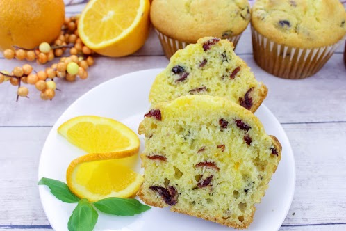 Jumbo Cranberry Citrus Muffins
