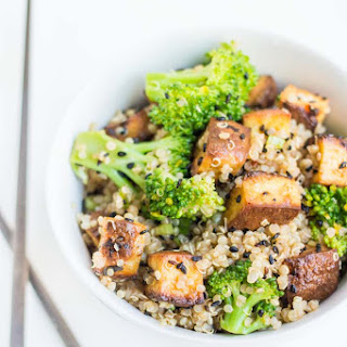 Vegetarian Quinoa Stir-Fry.