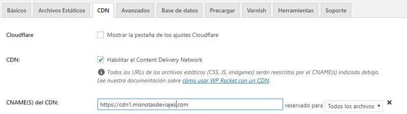 Configurar CDN77