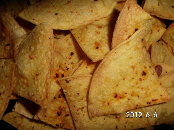 Spicy Baked Tortilla Chips Low Sodium Low Fat Recipe