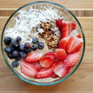 Red, White, and Blue Smoothie Bowl