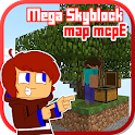 Mega Skyblock Survival Map for MCPE icon