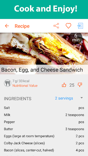 Recipe Calendar - Meal Planner 2.18 screenshots 4