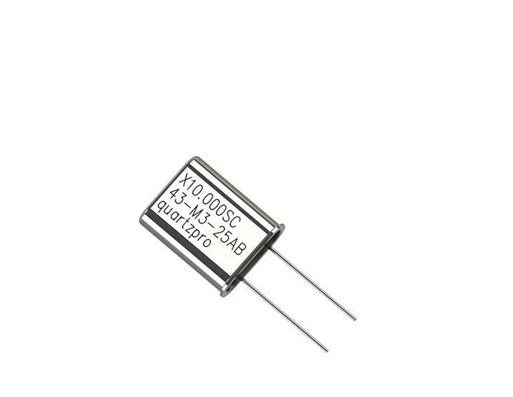 Quartz Crystal 10.000 MHz  SC HC-43/U 3rd overtone  CL 22pF