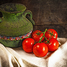 Mexico by George Bloise - Food & Drink Fruits & Vegetables ( italian, species, mexico, salsa, tomatoes )