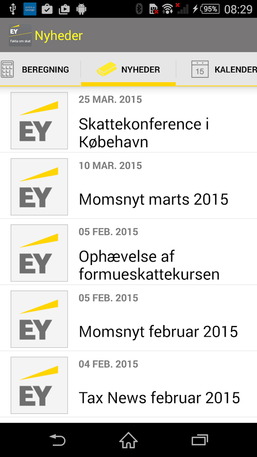 EY Fakta om Skat- screenshot