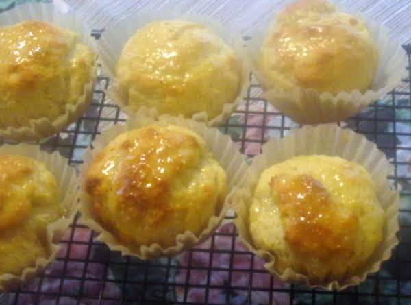 Orange Yeast Muffins