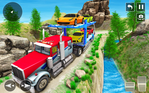 Real Truck Driving Simulator:Offroad Driving Game screenshots 3