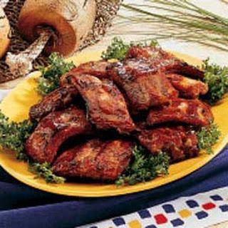 Honey-Garlic Pork Ribs.