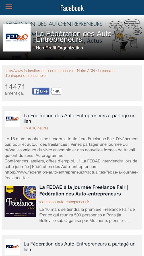 Autoentrepreneur Pratique- screenshot