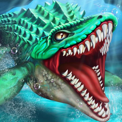 Jurassic Dino Water World-Mundo del agua dino